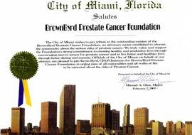 media content press releases brown byrd foundation cancer awareness